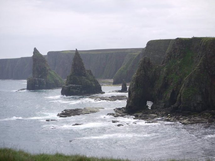 Sea Stacks Of Duncansby Head,