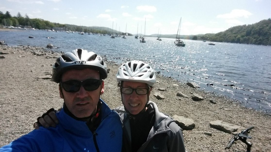 Cycle from Kendal to Lake Windermere