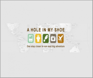 A hole in my shoe